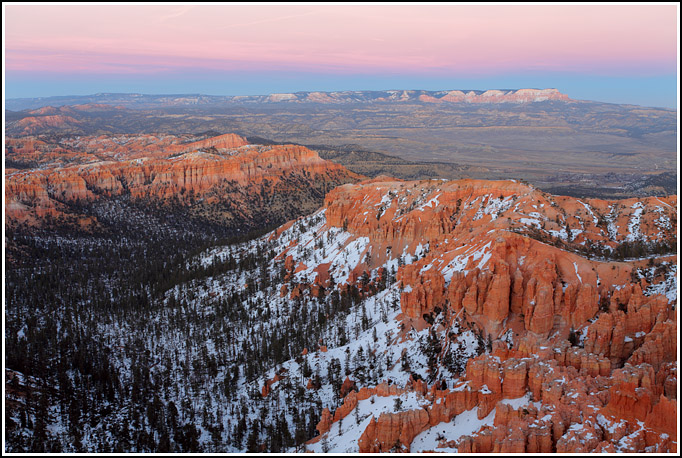 Fresh Snow in Bryce Canyon